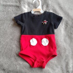 Disney Land Mickey Mouse 12 month Onezie